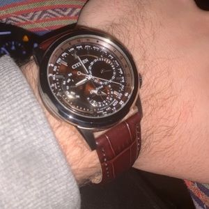 Citizen Eco Drive World Time Watch